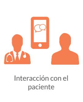 Interacción con el paciente