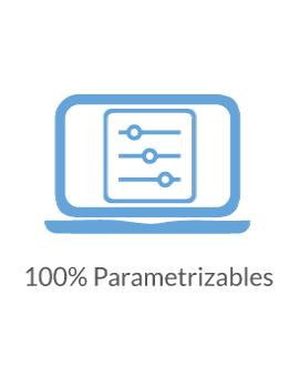 100% Parametrizables