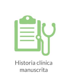 Historia Clínica Manuscrita